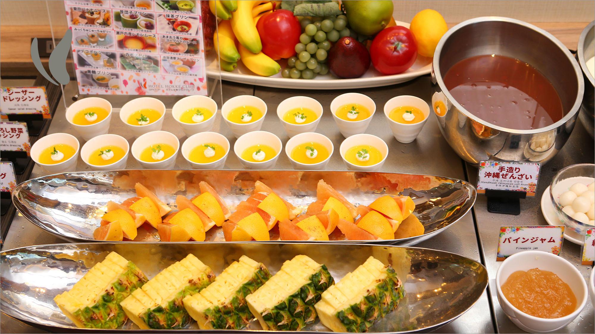デザート・フルーツ各種