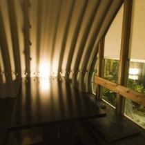 足湯BARクロニクルテラスの個室