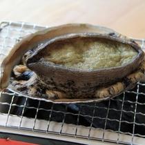 アワビのおどり焼き