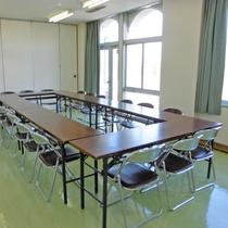 【研修室】会議やミーティングに利用できます。