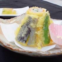 (夕食一例)天ぷら