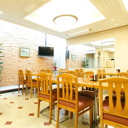 ご朝食会場『上野亭』好評の和定食でご用意となります♪