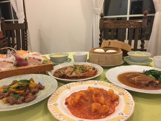 【楽天トラベルセール】スタンダード【当館で一番お得】新鮮なお刺身盛り合わせと中華をお楽しみください♪