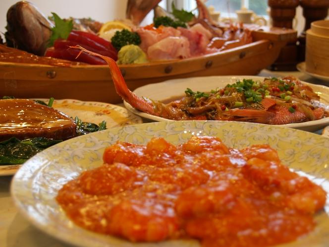 スタンダードプランの夕食