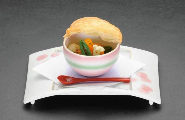 茄子の香り特製田楽パイ包み焼き