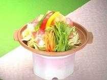 春野菜とクリン豚