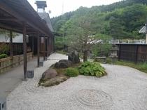 入り口庭園