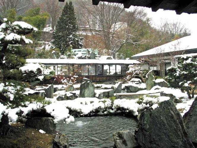 翠天天上の庭の滝