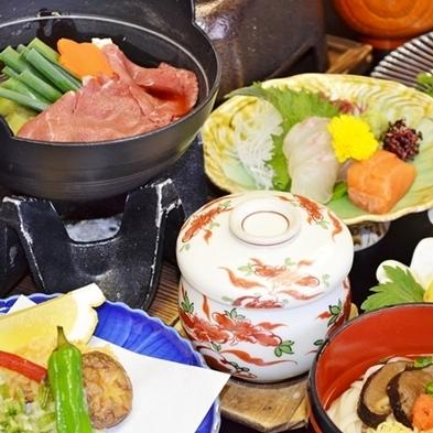 【秋冬旅セール】【料理長イチオシ】「島根和牛鉄板焼」付き会席【3密回避】