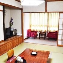 露天風呂付客室 1