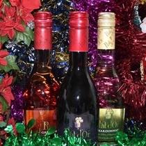 クリスマスプレゼントのワイン