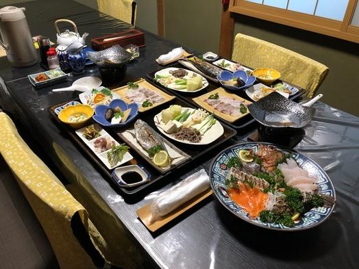 夕食おまかせプラン【朝食付き】
