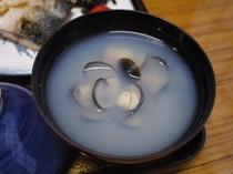 東郷湖産シジミのお味噌汁