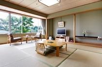 落ち着いた和室でゆっくりとお過ごしください。