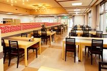 夕食・朝食会場のレストラン