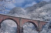 【冬のめがね橋】「ググっとぐんま写真館」から転載(http://gunma-dc.net/)