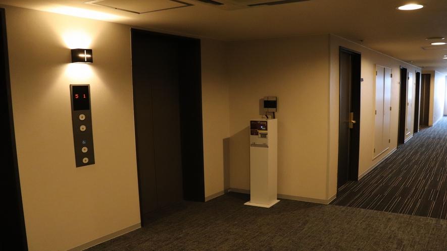 ○エレベーターホール○
