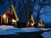 北米カントリーサイドの雰囲気漂うホテル