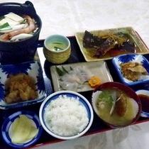 *夕食一例