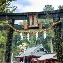 **【日光二荒山神社】1200年以上前に開山され日光信仰の祖となり、現在は縁結びのご利益でも人気。