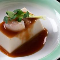 自家製胡麻豆腐