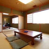 【和室10畳 二間】一回り広々としたお部屋です。