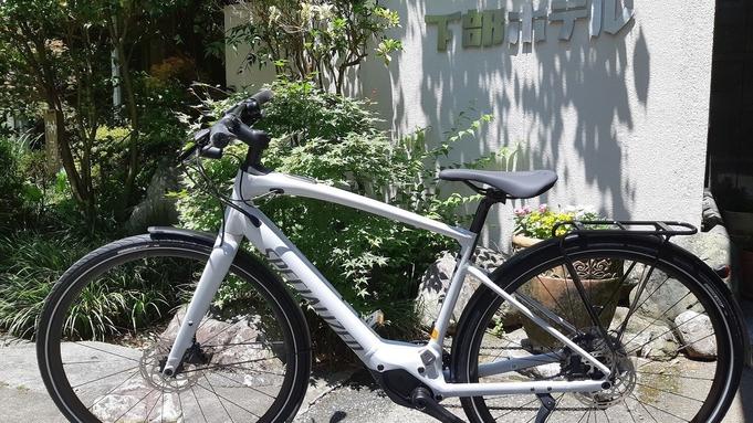 【2名×2組限定】e-bikeで下部温泉から本栖湖へ!テントサウナ体験&砂金取り体験付き宿泊プラン
