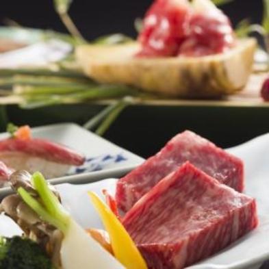 ★【トロける甲州牛付き】創作会席★贅沢な甲州牛と創作コース料理を味わう特別プラン