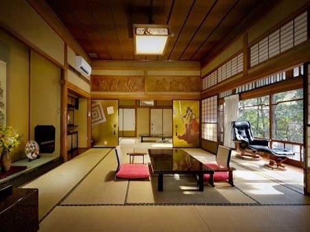 専用風呂付き特別室「歌舞伎の間」