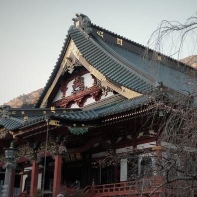 【創作会席】身延山久遠寺大本堂朝勤参列プラン