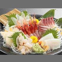 *蟹旬海席料理一例