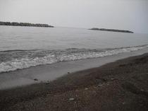鵜の浜海水浴場(波打ち際)