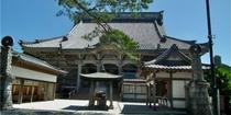 誕生寺◆日蓮大聖人誕生の地。近くの海沿いには遊歩道も整備されており、散歩に最適でございます。