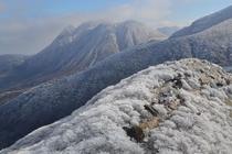 九重連山雪景色