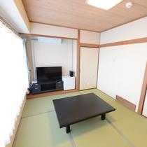 2Fリニューアル客室:和室/畳の上でリラックス!老若男女、誰でも安心の和室タイプ