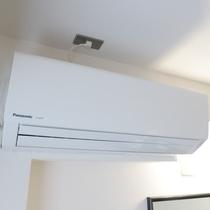 2Fリニューアル客室:設備/個別空調管理。お客様の好みに合わせて調整可能♪