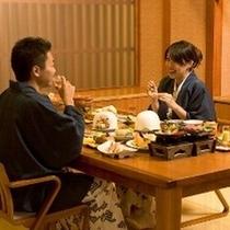 季饗庵でのお食事【雪花限定】