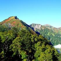 初秋の黒岳