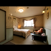 【部屋】ホテル棟のダブルルーム
