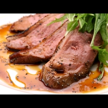 【夕食一例】鴨肉のロースト