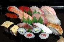 泊まりのお寿司