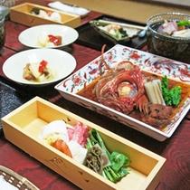 *【料理全体一例】和食を中心に、全て手作りでお出ししています。
