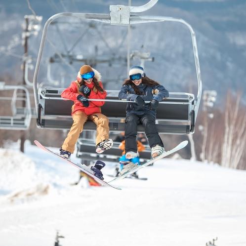 ハンターマウンテン塩原 北関東最大級スノーゲレンデ♪スノボ&スキー&キッズ♪おもいっきり楽しめます♪