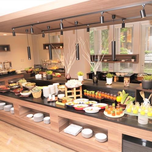 CORE's New Style Buffet 朝食