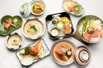 金目鯛・ずわい蟹プラン(お料理一例)
