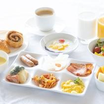 朝食ビュッフェ -洋食-
