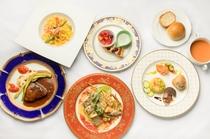 イタリアンフルコース(料理一例)