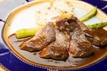 イタリアンに鮮魚のお造り付プラン(メイン料理一例)