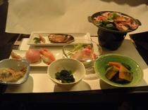 秋、冬の夕食の一例