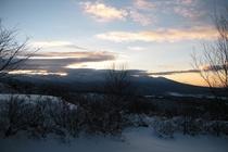 テラスから見える冬景色1